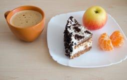 Очень вкусный светлый завтрак стоковая фотография rf