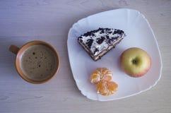 Очень вкусный светлый завтрак стоковые изображения