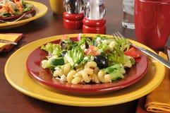 Очень вкусный среднеземноморской салат Стоковое Изображение RF