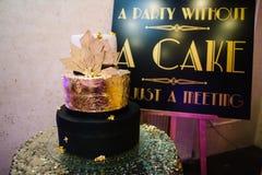 Очень вкусный торт для wedding Стоковые Изображения
