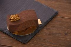 Очень вкусный торт кофе Стоковое Фото