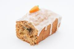 Очень вкусный торт плодоовощ с смешанными плодоовощ и гайками Стоковая Фотография RF