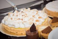 Очень вкусный торт с мороженым стоковые фотографии rf