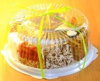 Очень вкусный торт Стоковая Фотография