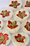 Очень вкусный фруктовый салат стоковое изображение rf