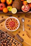 Очень вкусный шар smoothie ягоды acai стоковая фотография