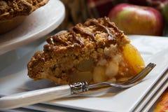 Очень вкусный яблочный пирог Стоковое фото RF