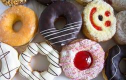 Очень вкусный Donuts Стоковые Изображения