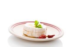 Очень вкусный marinated камамбер Стоковое Изображение