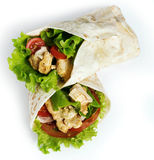 Очень вкусный tortilla Стоковое фото RF
