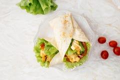 Очень вкусный tortilla Стоковая Фотография