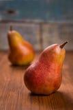2 очень вкусных груши Стоковая Фотография