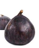 2 очень вкусных зрелых фиолетовых свежих смоквы Стоковое фото RF