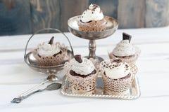 5 очень вкусных пирожных Стоковое фото RF