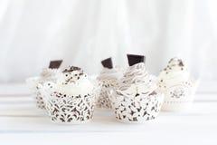 5 очень вкусных пирожных Стоковые Изображения RF