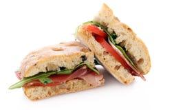 2 очень вкусных сандвича Стоковые Изображения RF