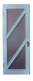 Очень высокое определение всей голубой двери Стоковая Фотография