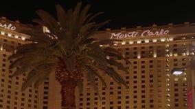 Очень исключительная гостиница Монте-Карло на прокладке Лас-Вегас - США 2017 видеоматериал