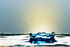 Очень красивые падения воды Оно чувствует спокойный и холодный Стоковая Фотография RF