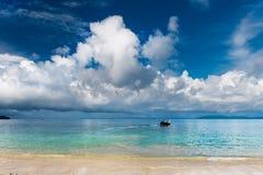 Очень красивый вид на море Krabi Стоковое фото RF