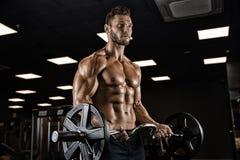 Очень культурист парня силы атлетический стоковая фотография rf