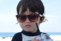 очень милый младенец в внешнем на Вьетнаме Стоковое Изображение