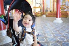 очень милый младенец в внешнем на Вьетнаме Стоковые Изображения RF