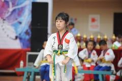 Очень молодой конкурент--Седьмое Стоковые Фото