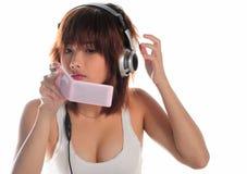 Очень обольстительная молодая азиатская женщина Стоковая Фотография