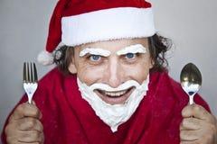 Очень плохое Дед Мороз Стоковые Фото