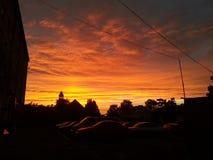 Очень последнее небо стоковая фотография rf