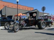 Очень старая выставка автомобиля jalopy Стоковая Фотография
