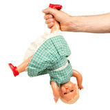 Очень старая куколка (1940s) Стоковые Изображения