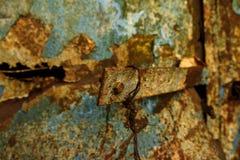 Очень старая ржавая предпосылка металла стоковые фото