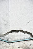 Очень старая стена с отказом на ем Стоковые Фотографии RF