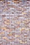 Очень старая текстурированная кирпичная стена шелушения Стоковые Фото