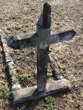 Очень старый крест Стоковые Изображения