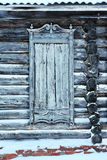 Очень старый покинутый деревянный дом Стоковые Изображения RF
