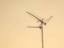 Антенна старого типа Стоковое фото RF