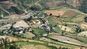 Очень славная этническая деревня. Стоковые Изображения RF