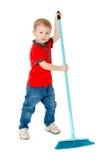 Очень труженический мальчик Стоковая Фотография RF