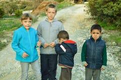 Очень унылый плакать детей Стоковое Фото