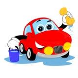 Очистите автомобиль Стоковые Фото