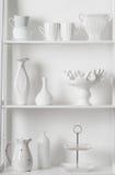 Очистите блюда и вазы Стоковая Фотография RF