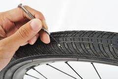Очистите ваше колесо Стоковое Изображение RF
