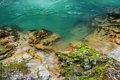 Очистите голубое реку Стоковая Фотография RF