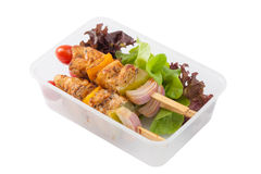 Очистите коробку для завтрака еды Стоковые Изображения RF