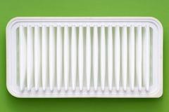 Очистите фильтр на зеленом цвете Стоковое Изображение RF