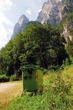очистьте горы Стоковая Фотография