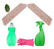 очистьте домой стоковое изображение